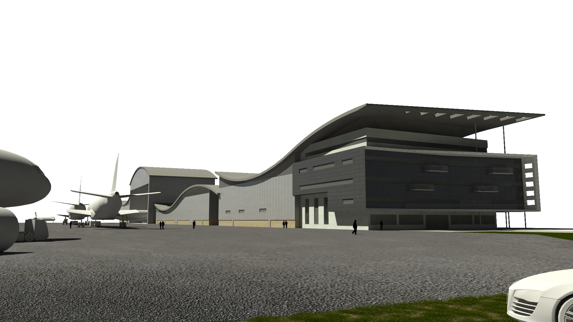 Airplane Recycling Hangar