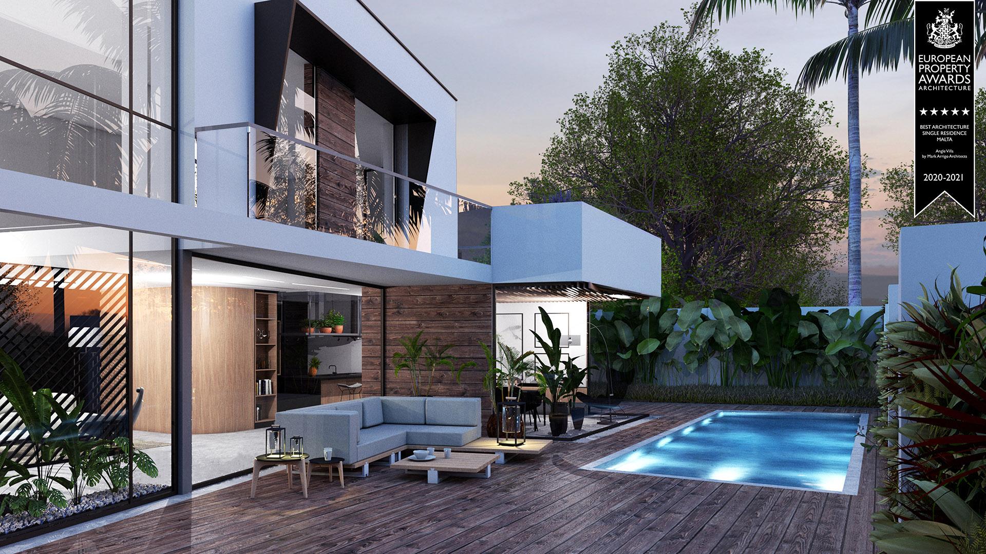 Angle Villa